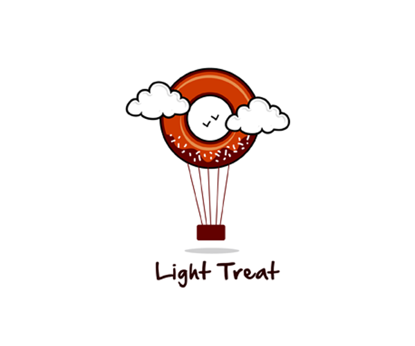 light-treat-logo-design