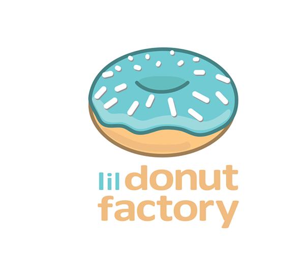 lil-donut-factory-logo-design