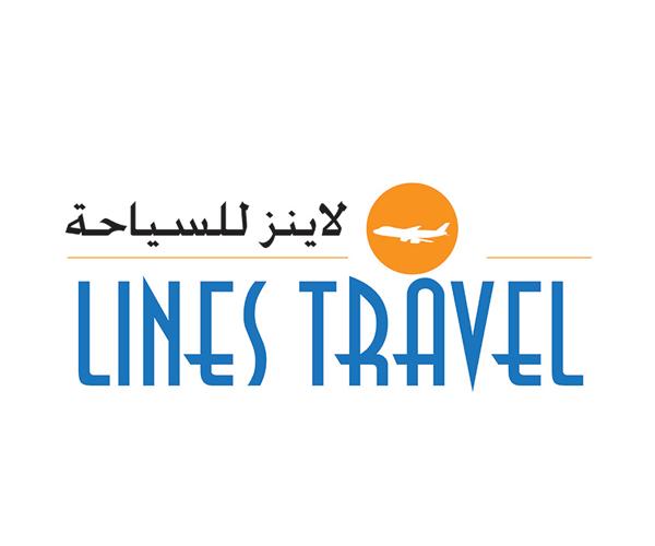 lines-travel-logo-design