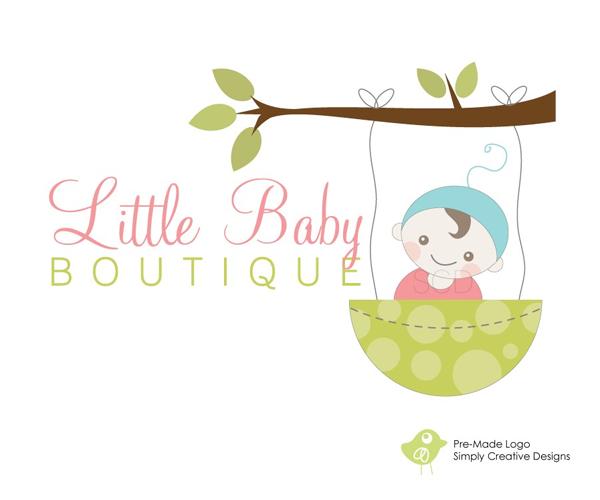 little-baby-boutique-logo-design