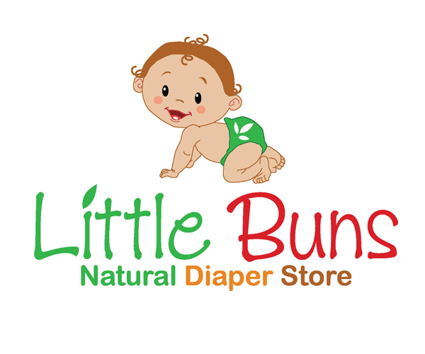 little-buns-diaper-store-logo-design