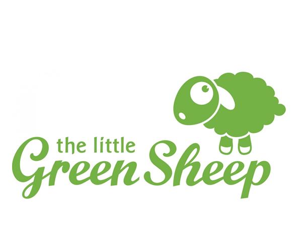 little-green-sheep-logo-design