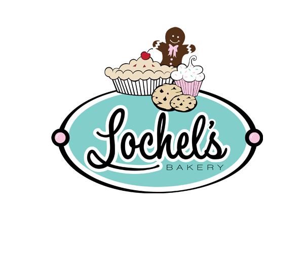 loechels-bakery-logo-design