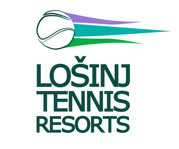 losinj-tennis-resorts-logo-design