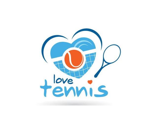 love-tennis-logo-design
