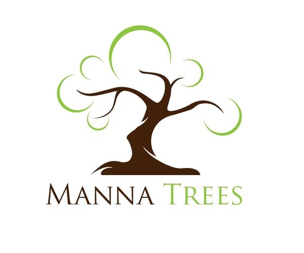 manna-trees-logo-design