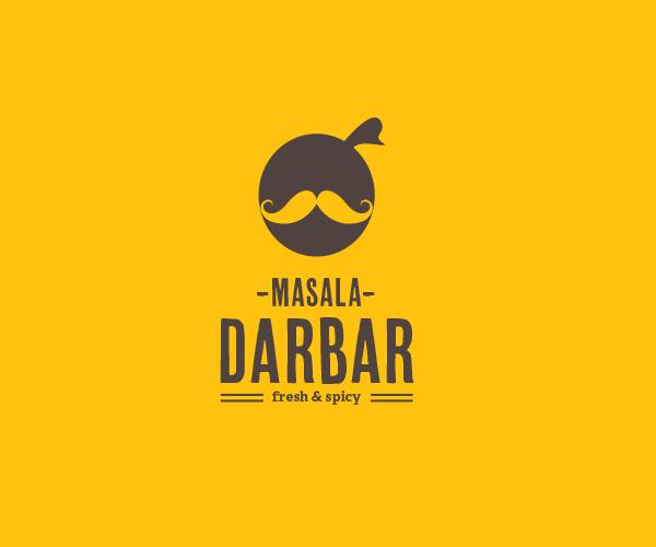 masala-darbar-logo-design