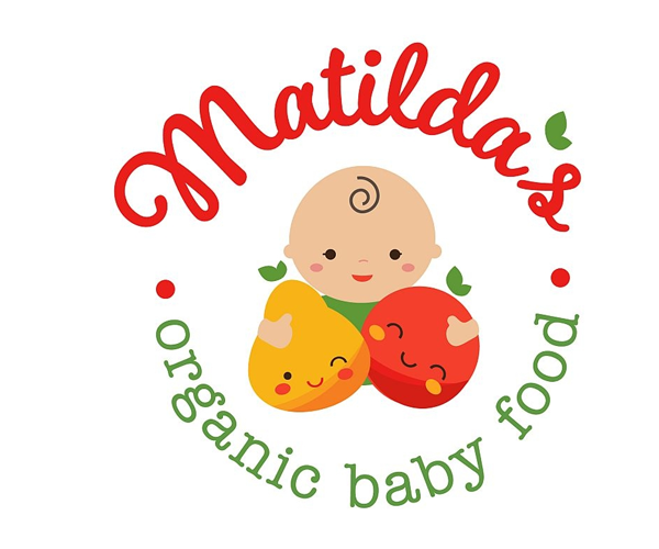 matildas-baby-food-logo-design