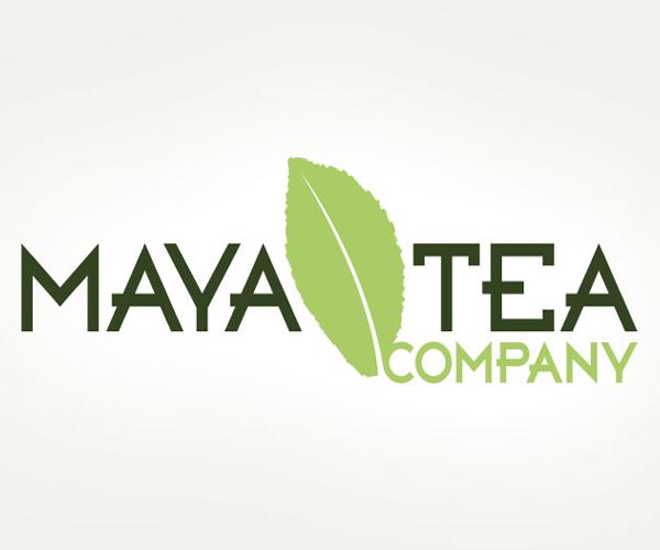 maya-tea-company-logo-design