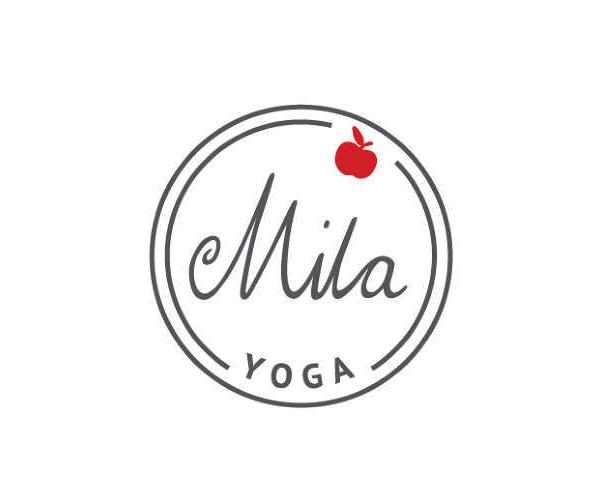 mila-yoga-logo-design
