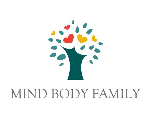 mind-body-family-logo-design