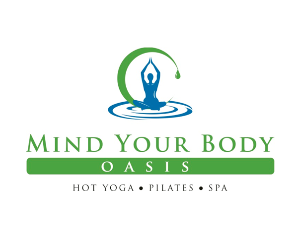 mind-your-body-oasis-logo-design