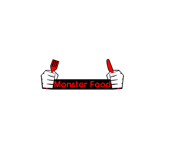 monster-food-logo-design