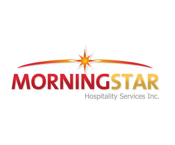 morning-star-hospitality-logo-design