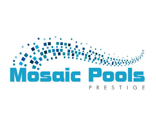 mosaic-pools-logo-design