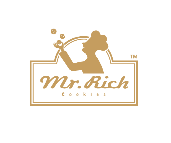 mr-rich-cookies-logo-design