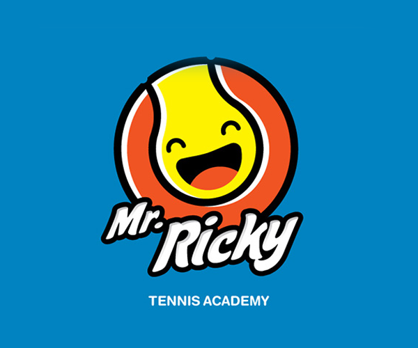 mr-ricky-tennis-academy-logo-designer
