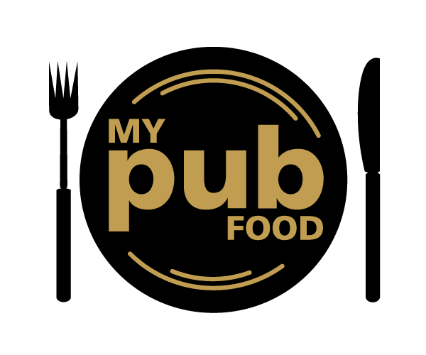 my-pub-food-logo-design