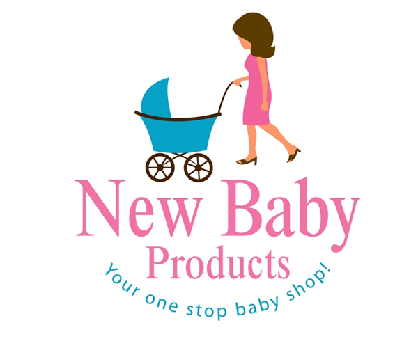 new-babay-products-shop-logo-design