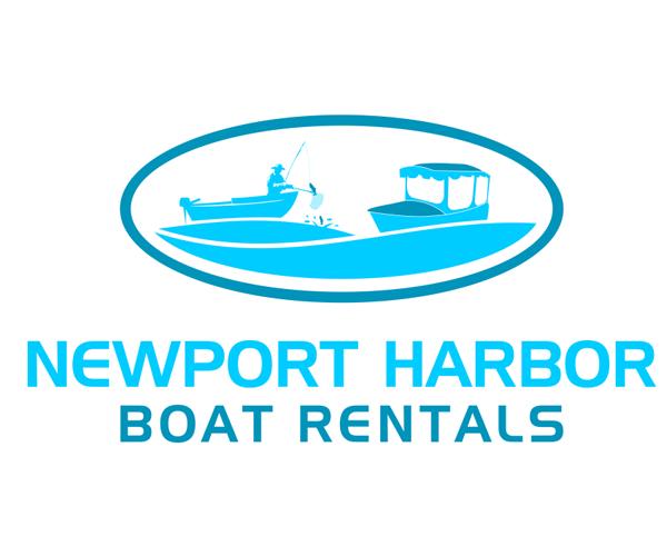 newport-harbor-boat-rentals-logo-design