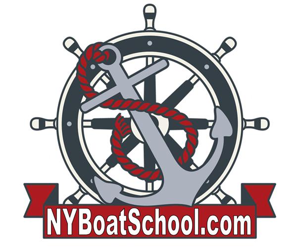 newyork-boat-school-logo-design