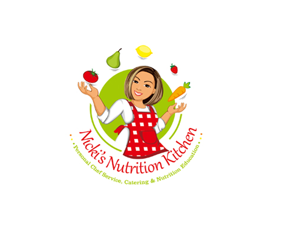 nickis-nutrition-kitchen-logo-design