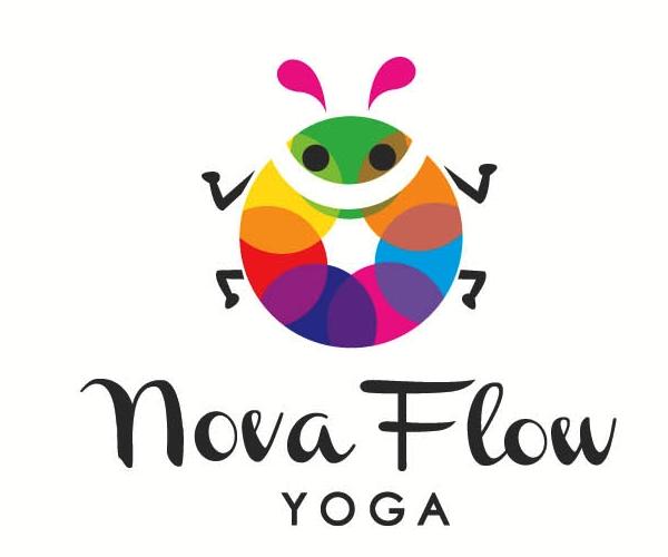 nova-flow-youga-logo-design