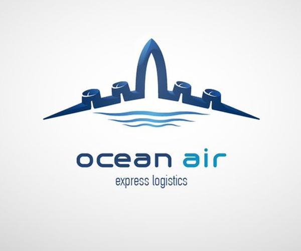 ocean-air-express-logistics-logo