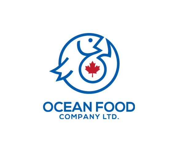 ocean-food-company-logo-design