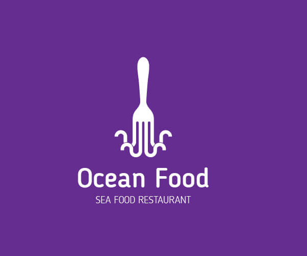 ocean-food-restaurant-logo-designer