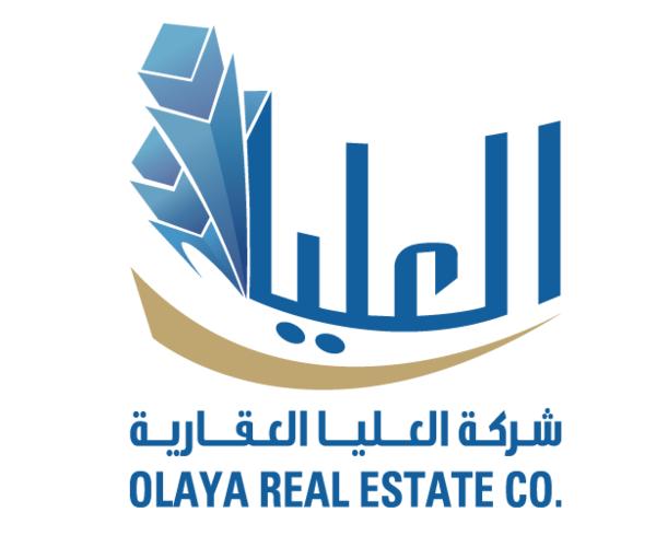 olaya-real-estate-logo-design