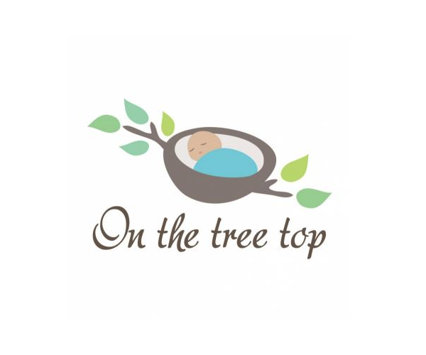 on-the-tree-top-logo-design-baby