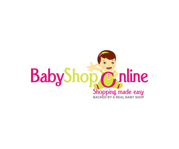 online-shopping-for-baby-shop-logo