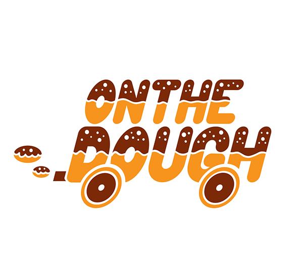 onthe-dough-logo-design