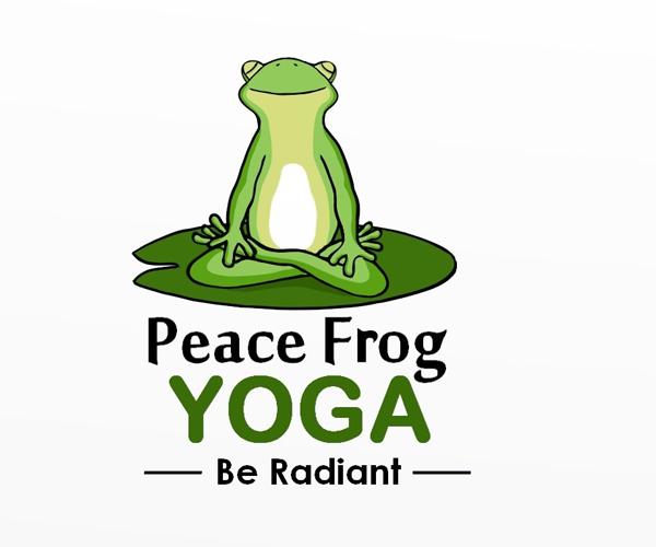 peace-frog-yoga-logo-deisgn