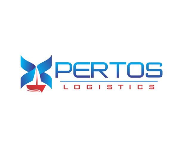 pertos-logistics-logo-design-free