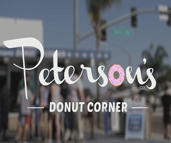 petersons-donut-logo-design