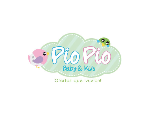 pio-pio-baby-and-kids-logo-design