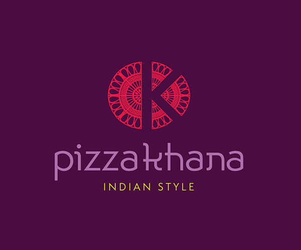 pizza-khana-indian-restaurant-logo-design