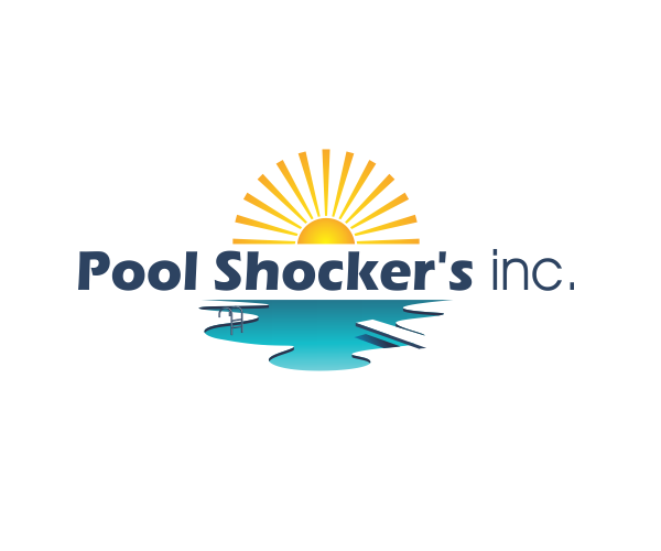 pool-shockers-inc-logo-design