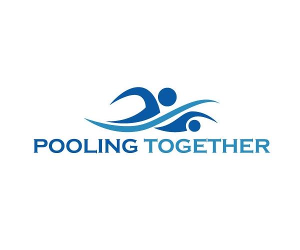 pooling-together-logo-design