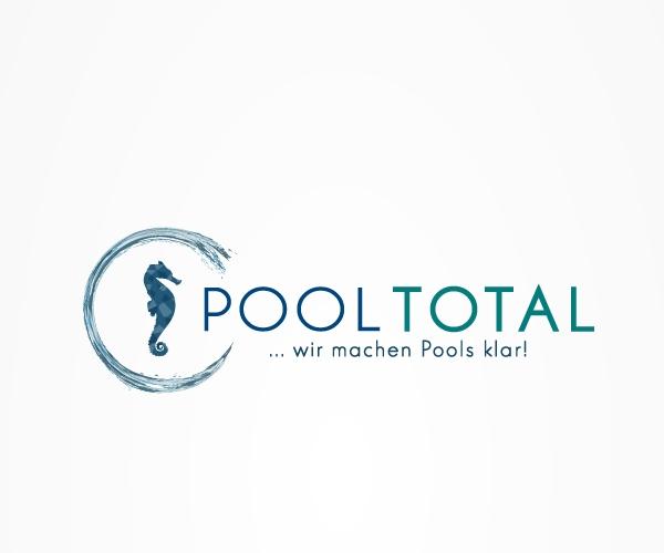 pooltotal-logo-design