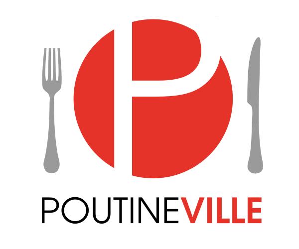 poutine-ville-logo-design