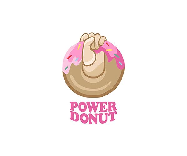 power-donut-logo-designer