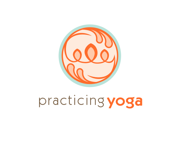 practicing-yoga-logo-design