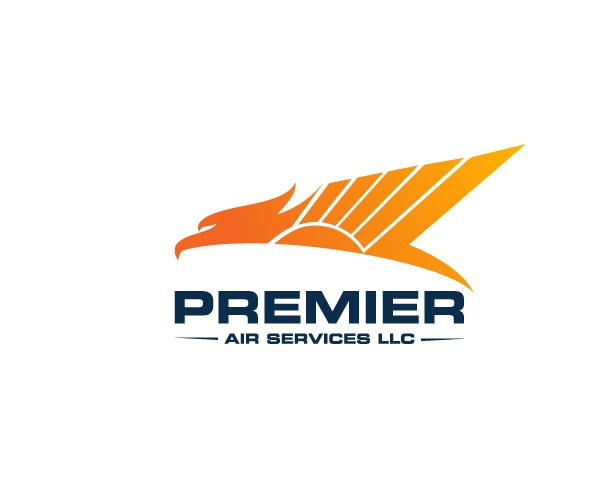 premier-air-services-llc-logo-design-cargo