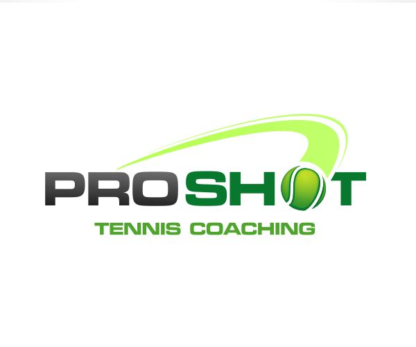 proshot-tennis-coaching-logo-design
