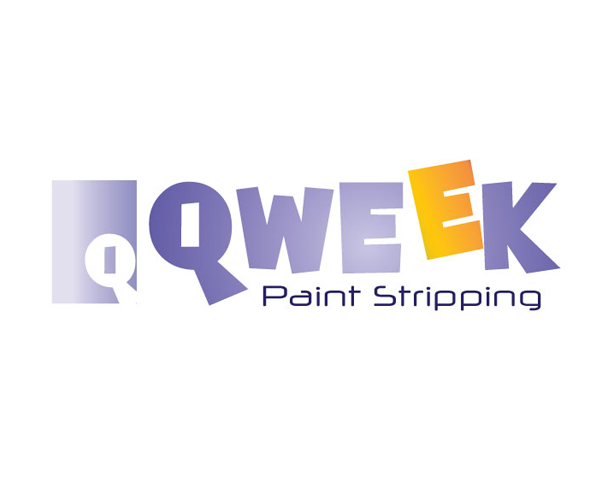 qweek-Paint-Stripping-logo-design-uk