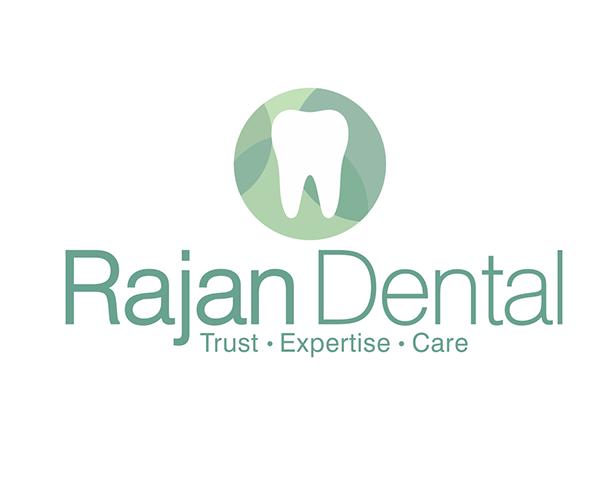 rajan-dental-logo-designer
