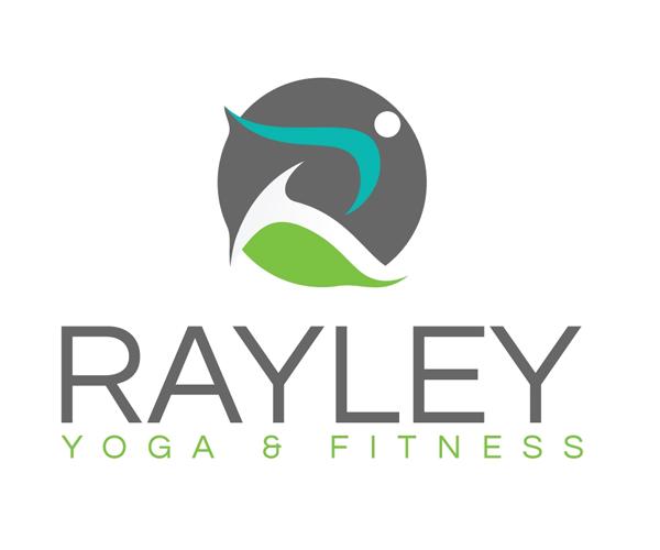 rayley-yoga-fitness-logo-design